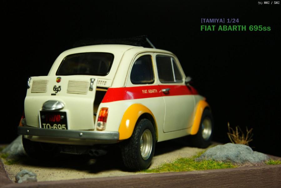 Tamiya 1 24 Fiat Abarth 695ss