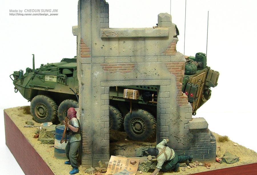 M1126 Stryker ICV - AF Diorama