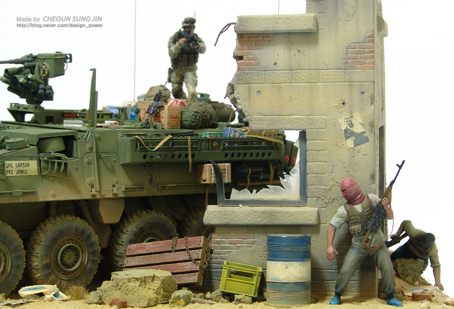 M1134 Stryker Anti-Tank Guided Missile Vehicle 1/35 Scale